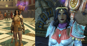 Defiant Cleric Before and After