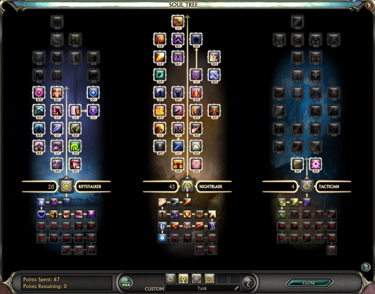 Rift rogue builds best guide from a level 50 on best rift rogue.
