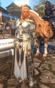 Cleric Armor gets a nice appearance upgrade at level 40.