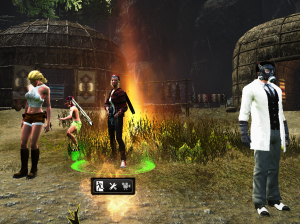 What a motley crew to be fighting Mayan Zombies