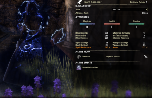 Nord Light Armor Tanking Sorcerer -- light armor also lets you cap spell resistance.  Light beats heavy for tanking?  Who knew?
