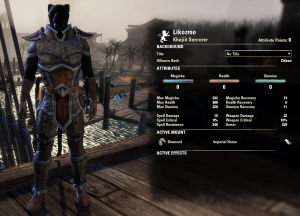 I really like the look of the Dark elf style for leather armor.