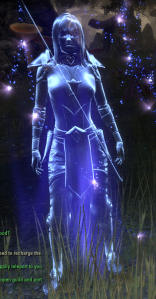 Neat sparklie effects when you teleport