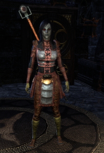 Heavy breastplate, everything else is Light.  I like the look.