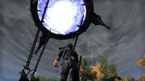 The lightning looks a lot cooler when it's not a screenshot.  Oh well. . .