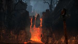 Yep, another lava landscape.  I like lava.  Sue me!
