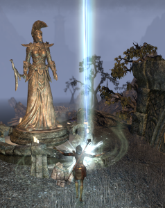 Skyshards and Ordinator Statues