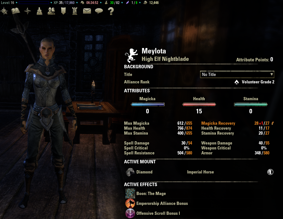Crafting Toon Eso