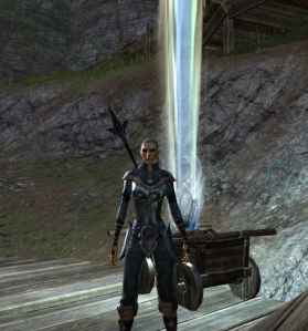 The last Glenumbra skyshard I needed to find.  That beacon really is something else, isn't it?