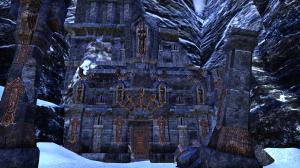 Dwemer ruin south of Riften
