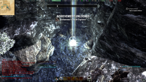 Skyshard!  And an achievement too.