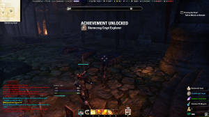 Mini-dungeon completion achievement