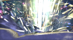 The portal back to Skuldafn from Sovngarde.  Psychedelic!
