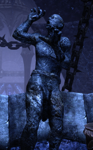 For all that Coldharbour is full of gruesome stuff like this, it's surprisingly mob-light, with full cities of NPC's and such.  Molag Bal doesn't seem to have quite as crushing a grip over his domain as he wants you to think. . . .