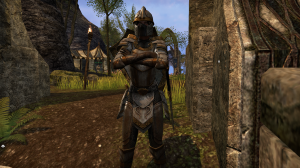 A Daggerfall guard on Stirk