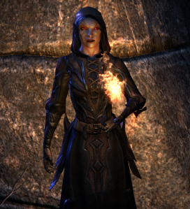 A Helpful Dremora that you run across several times