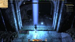 Dark dungeon.... good thing I can summon a pillar of light!