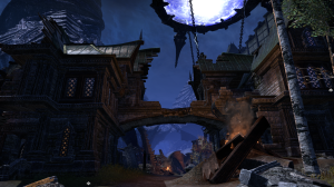 Fighting through town to an anchor for Meridia to destroy