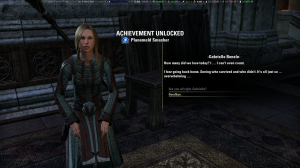 Achievement for successfully assaulting Coldharbour