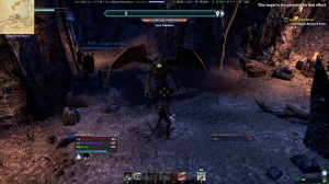 Killing a gargoyle in Coldharbour