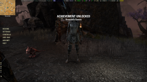 And Stonefalls completion, a mere 35 levels late.
