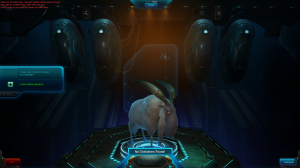 No characters = you see a space goat