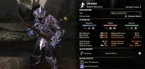 """Level 40 stats with new gear.  I got to trait my swords to precise, so I'm """"only"""" 25% crit rate, but I'll fix that with my level 42 weapon upgrade."""