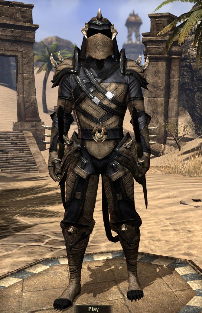 Build My Armor Set Online Eso