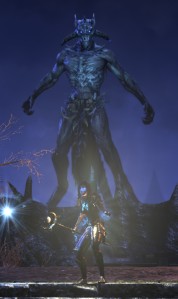 just about to fight the big guy for the 3rd time.  Was *very* easy with the Degeneration skill (which any class can use, so it's not a Sorc thing).