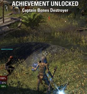 Cap'n Bones Destroyed!
