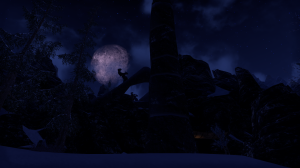 The Skyrim game itself has pretty aurorae, but this is still pretty close