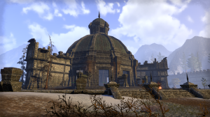 One of the Elder Scroll Temples in Cyrodil.