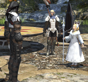 My height vs a standard human.  Except I think they call them Hyur (sp?) in this game.