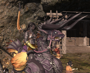 Waiting for a FATE timer on my chocobo