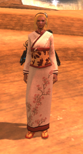 The new CE Kimono outfit looks nice