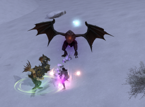 "The ""trial leve"" monsters I had to fight in order to unlock the leves in Coerthas Highlands"