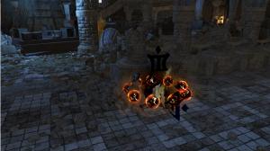 Random shot in a dungeon