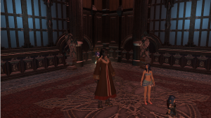 Our healer in this dungeon had obviousy glamoured her clothing