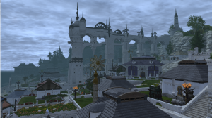 Limsa Lominsa's residential district
