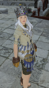 My FC's goldsmith in her GSM getup
