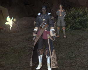 "The Battlemage outfit looks surprisingly like my level 90 ""Cashmere"" set"