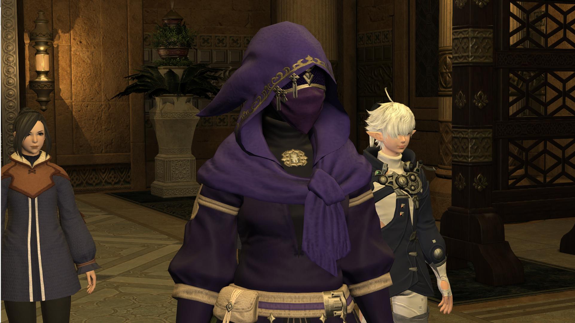 Yugiri's mask/hood for glamour? : ffxiv