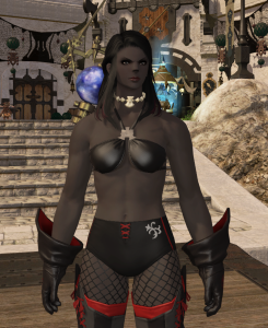 "The  iLevel 100 gear seems to be going back to the ""less is more"" style, though that's a  bikini top, not the set piece yet."