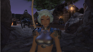 After getting max rep with the Bortherhood of Ash, Loonh Gah deigns to  take off ehr mask