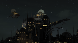 Ul'dah in the night