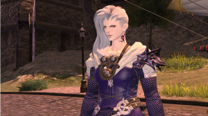 A new character in the main story -- Moenbryda, I think is how her name is spelled.