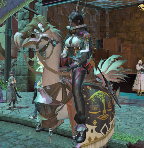 "I got my chocobo changed to ""Snow White"" for its color now."