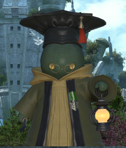 A Tonberry Scholar