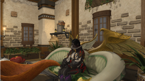 Chilling in the FC house