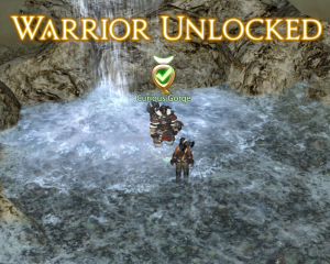 Warrior unlocked!  Does this mean I'm a real tank since I have both jobs now?